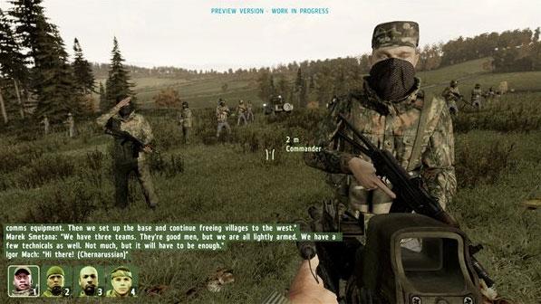 ARMA II: Armed Assault 体験版公開 – 明日は休もう