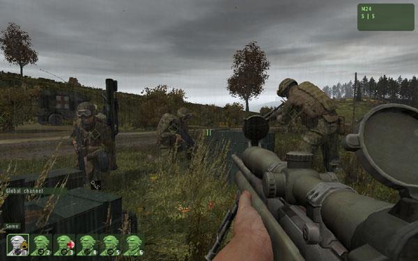 ARMA II: Armed Assault Demo – テストプレイ重ねて