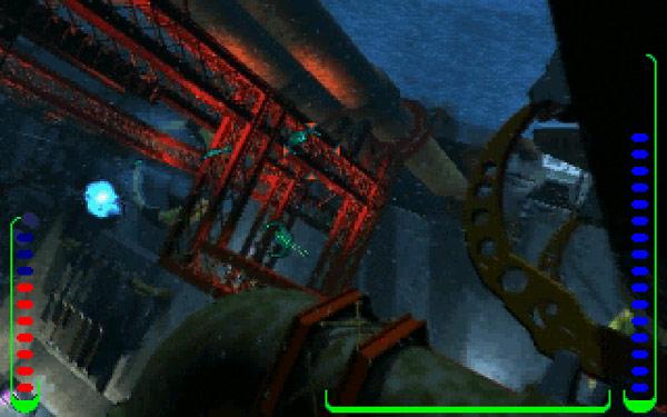深海をハイスピードで移動するよ