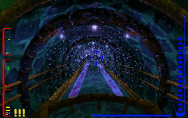 エイリアン船内の造形が素敵