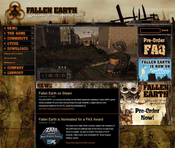 世紀末MMORPG「Fallen Earth」