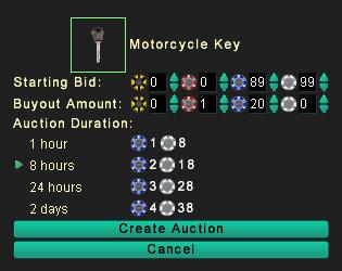 バイクを売るならオークション
