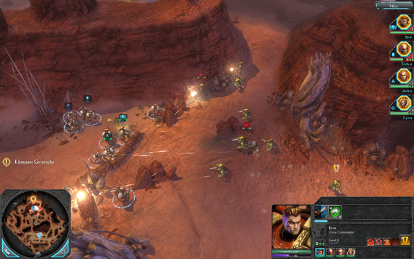 Warhammer 40,000: Dawn of War II Demo – 宇宙を駆けるメタルフィギュア