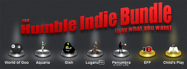 The Humble Indie Bundle – ゲームの値段はユーザーが決める時代