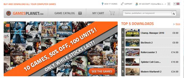 Gamesplanet サイト改装とセール