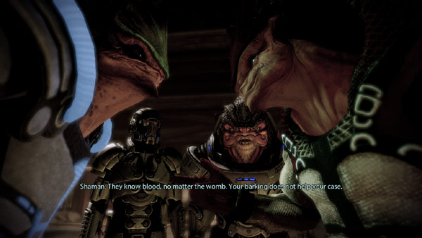 Mass Effect 2 – シェパード相談役(5)