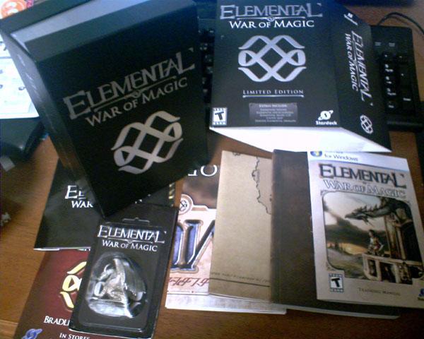 Elemental: War of Magic Limited Edition Box – スタドからの贈り物