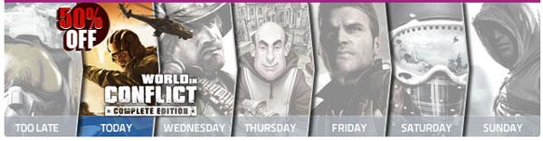 GamesPlanet – GAME promotion: Exclusive Ubisoft week!