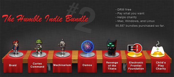 The Humble Indie Bundle #2 – 値段はアナタがキメて