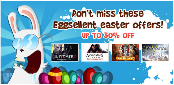 Gamesplanet – nice easter promotions