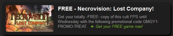 FREE – Necrovision: Lost Company!