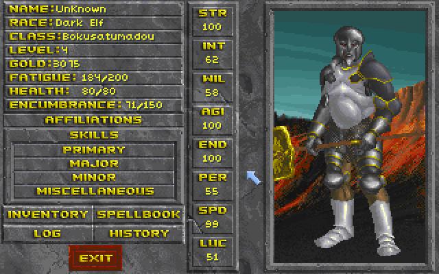 The Elder Scrolls II: Daggerfall – 目が覚めたらスーパーマン(番外)