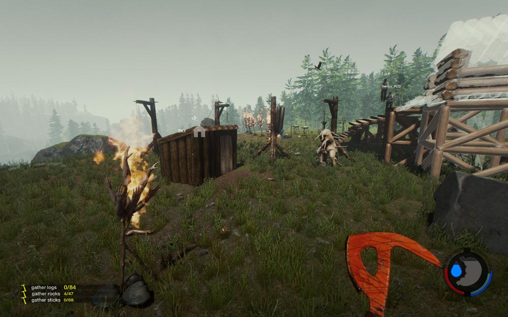 God Modeで遊べなかったのでThe Forestをやりました