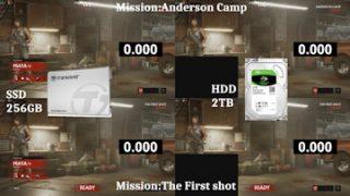 OVERKILL's The Walking Dead – SSDとHDDのロード時間比較