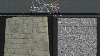 モデリング強化月間4 – 壁のテクスチャを作る