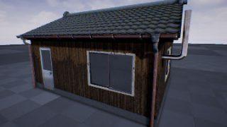 モデリング強化月間7 – 日本家屋を作りたい